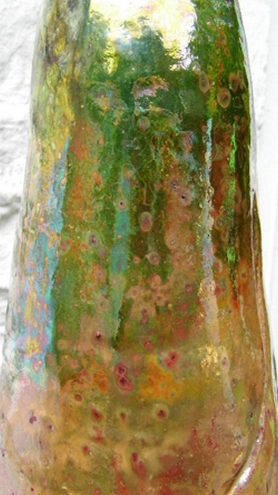 Making of welsh ladies - The finished welsh lady glaze close up