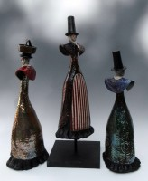 Raku welsh lady trio